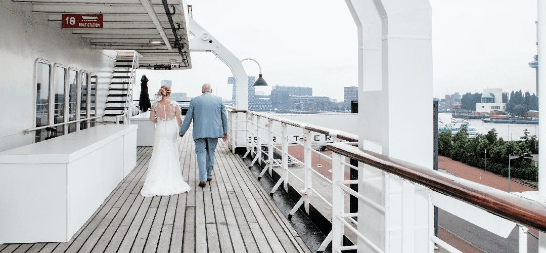Maritiem en duurzaam bruiloftsgeluk